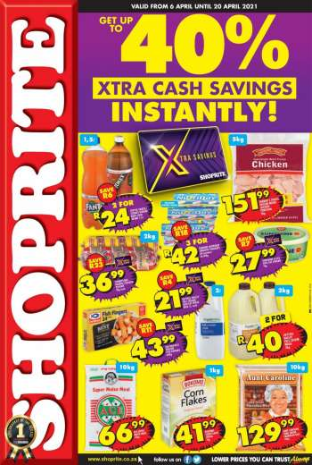 Shoprite catalogue  - 04.06.2021 - 04.20.2021.