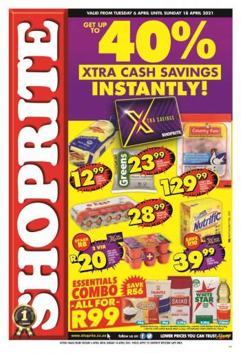 Shoprite catalogue  - 04.06.2021 - 04.18.2021.