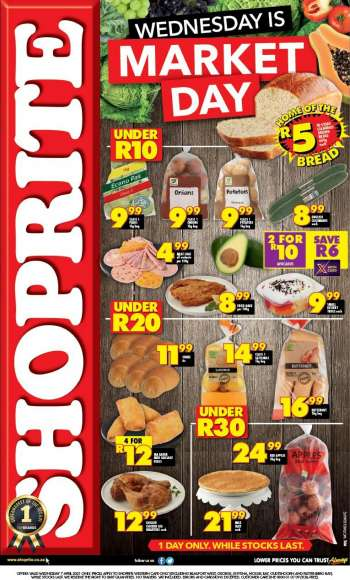 Shoprite catalogue  - 04.07.2021 - 04.07.2021.