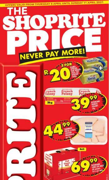 Shoprite catalogue  - 04.08.2021 - 04.11.2021.