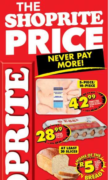 Shoprite catalogue  - 04.09.2021 - 04.11.2021.