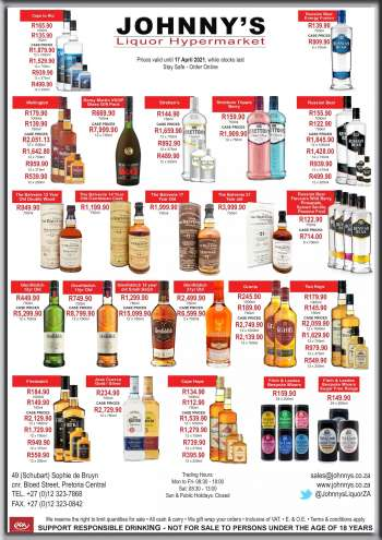 Johnny's Liquor Hypermarket catalogue  - 04.10.2021 - 04.17.2021.