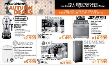 Tafelberg Furnishers catalogue  - 04.11.2021 - 04.18.2021.