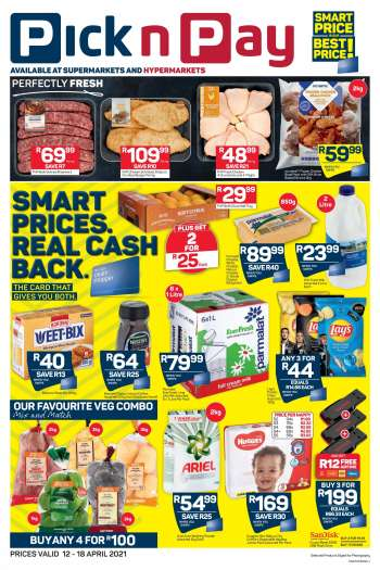 Pick n Pay catalogue  - 04.12.2021 - 04.18.2021.