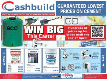 Cashbuild catalogue  - 04.14.2021 - 04.18.2021.