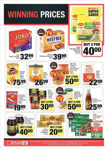 SPAR catalogue  - 04.19.2021 - 05.09.2021.