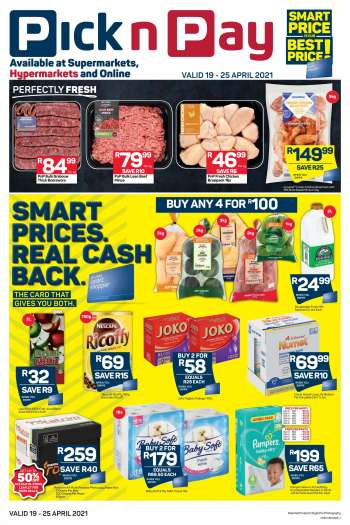 Pick n Pay catalogue  - 04.19.2021 - 04.25.2021.