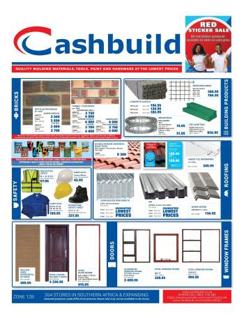 Cashbuild catalogue  - 04.19.2021 - 05.23.2021.