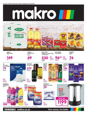 Makro catalogue  - 04.22.2021 - 05.05.2021.
