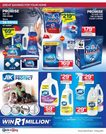 Pick n Pay catalogue  - 04.23.2021 - 05.09.2021.