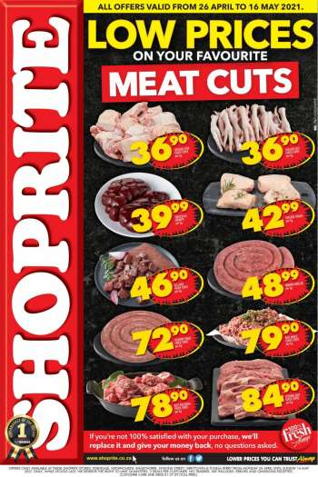Shoprite catalogue  - 04.26.2021 - 05.16.2021.