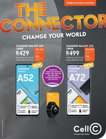 Cell C catalogue  - 04.28.2021 - 05.31.2021.