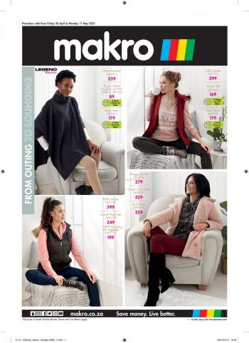 Makro catalogue  - 04.30.2021 - 05.17.2021.