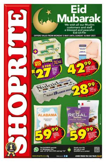 Shoprite catalogue  - 05.03.2021 - 05.16.2021.