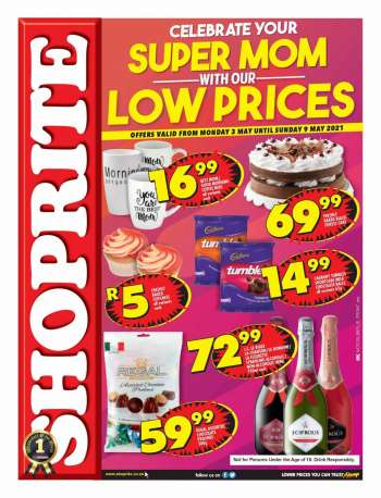 Shoprite catalogue  - 05.03.2021 - 05.09.2021.