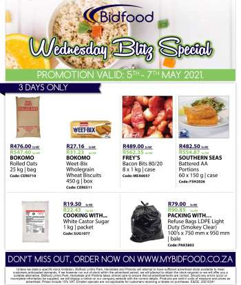 Bidfood catalogue