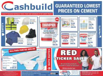Cashbuild catalogue  - 05.04.2021 - 05.23.2021.
