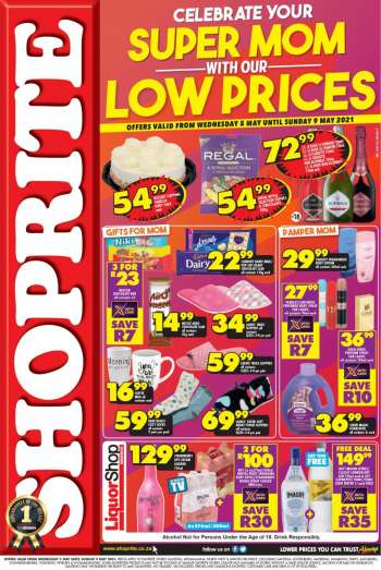 Shoprite catalogue  - 05.05.2021 - 05.09.2021.