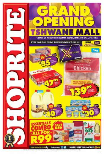 Shoprite catalogue  - 05.04.2021 - 05.09.2021.