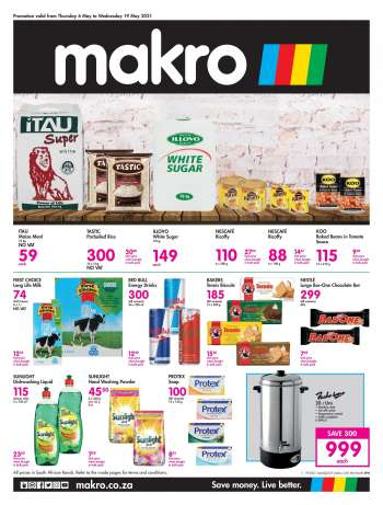 Makro catalogue  - 05.06.2021 - 05.19.2021.