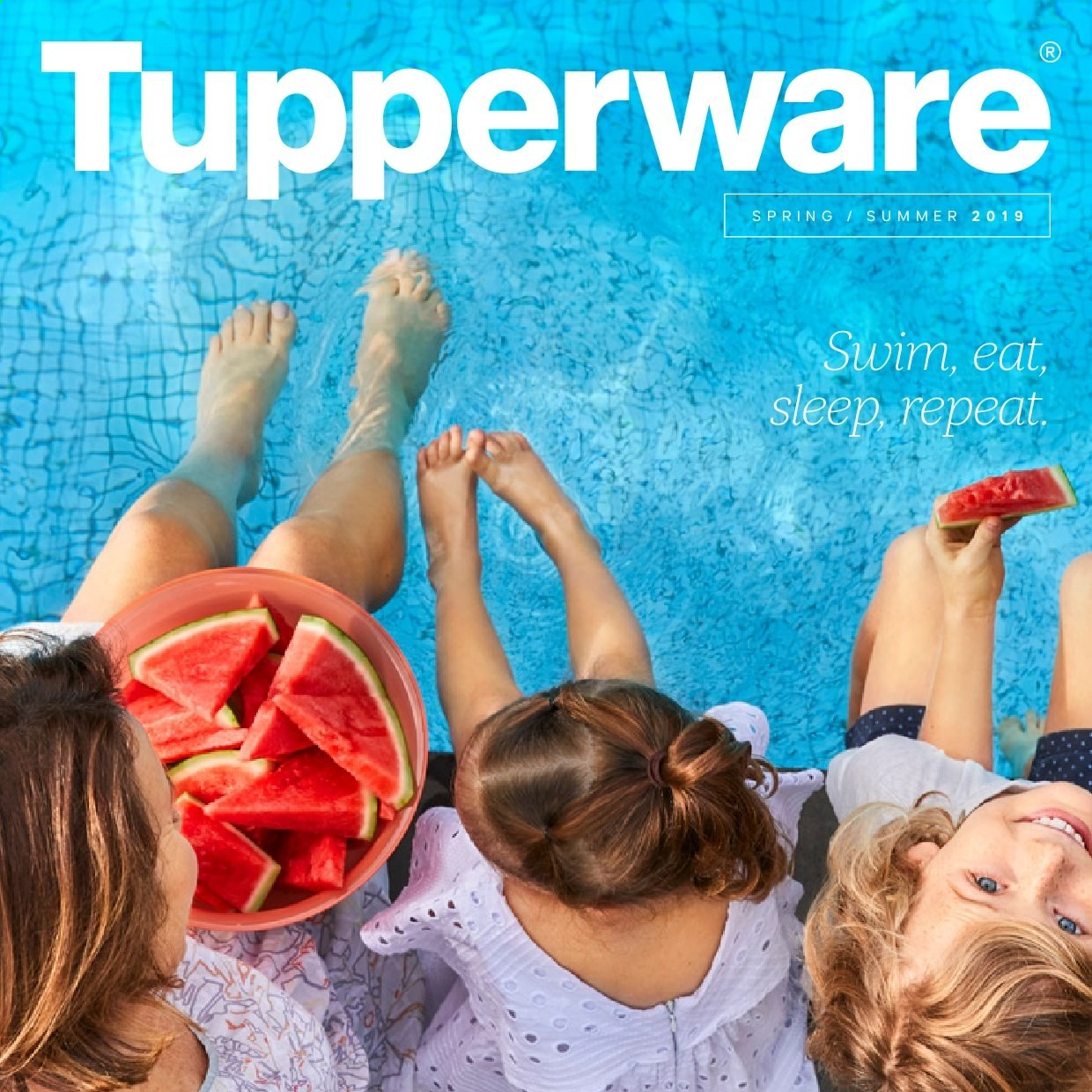 Tupperware mailer . Page 1.