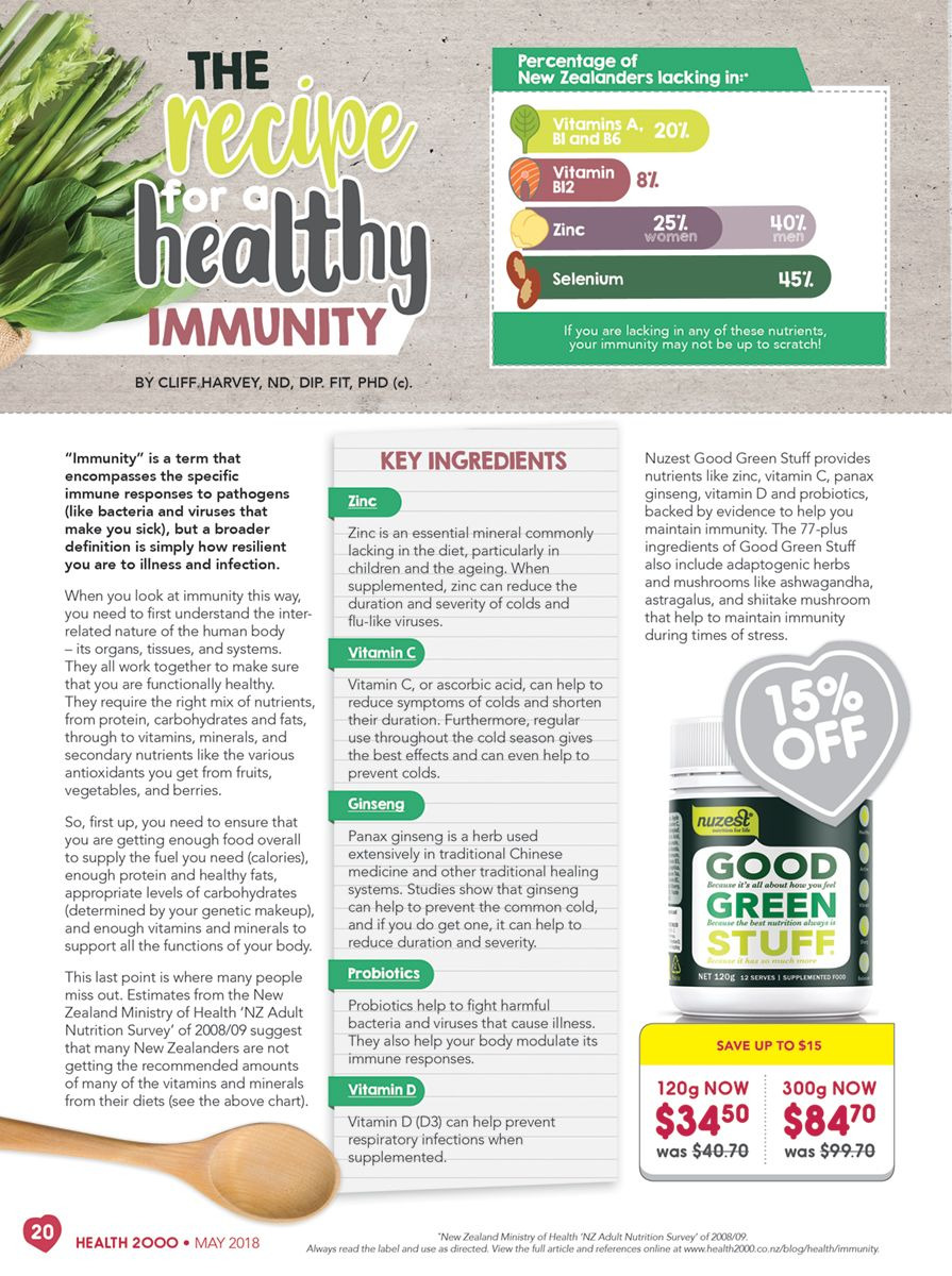Health 2000 mailer  - 01.05.2018 - 31.05.2018. Page 20.
