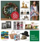 Bed Bath and Beyond mailer - 03.12.2019 - 24.12.2019.