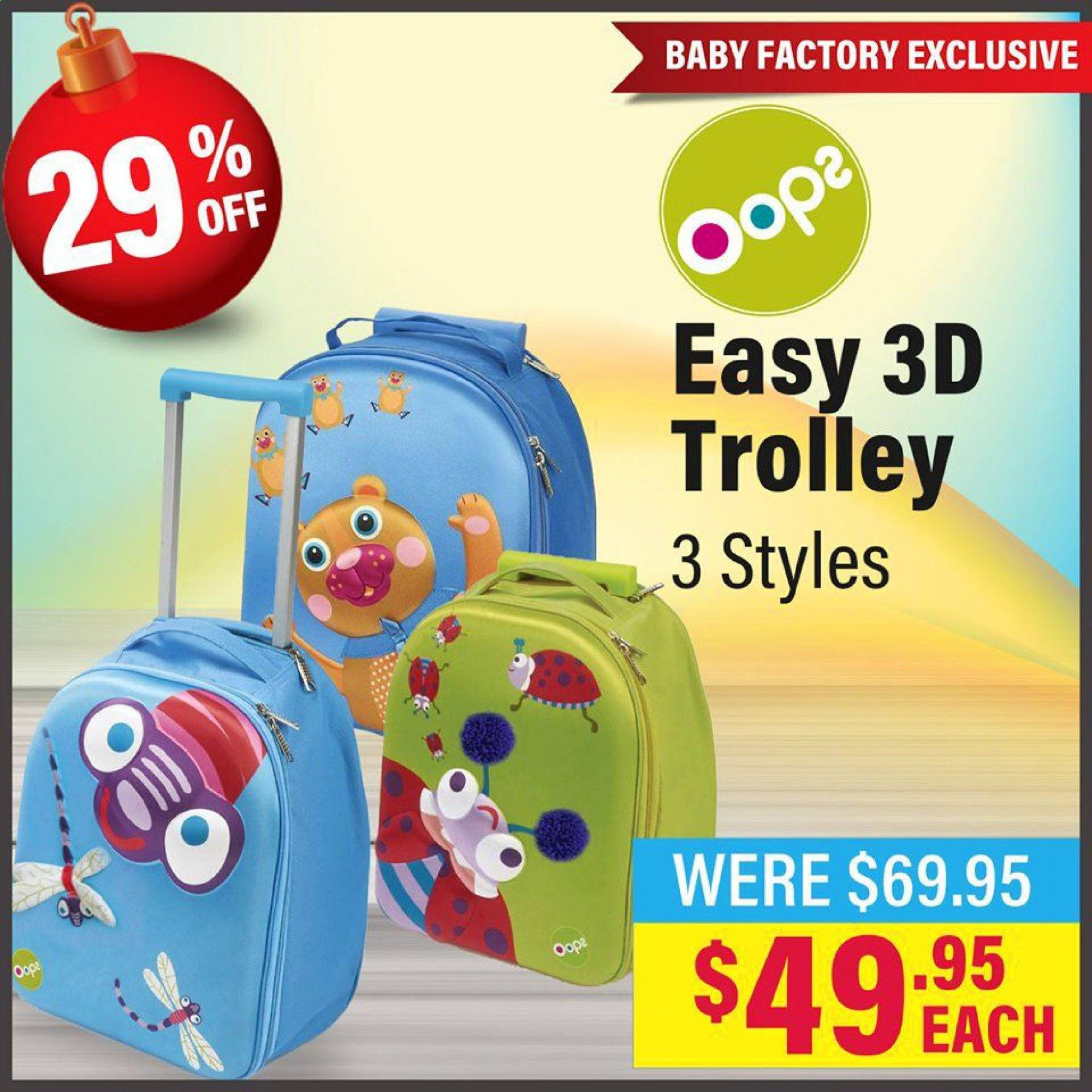 The Baby Factory mailer - 02.12.2019 - 24.12.2019 - Sales products - trolley. Page 7.