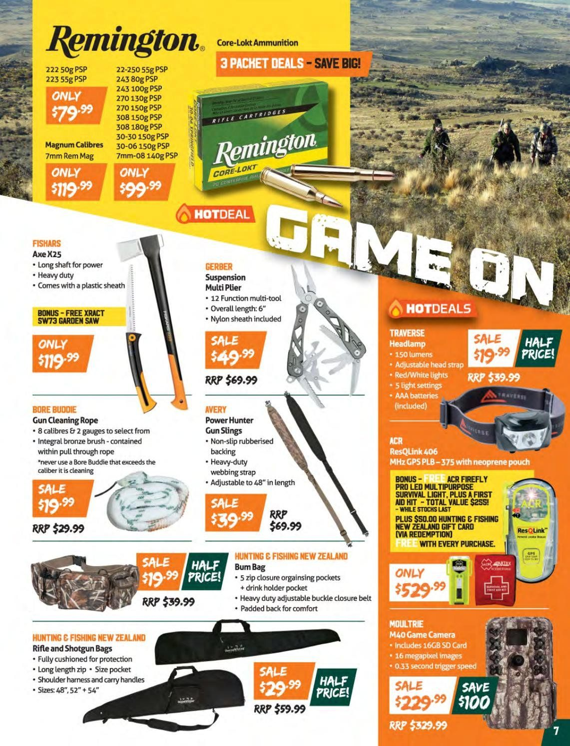 Hunting & Fishing mailer - 14.05.2018 - 04.06.2018 - Sales products - neoprene, brush, Hunter. Page 7.