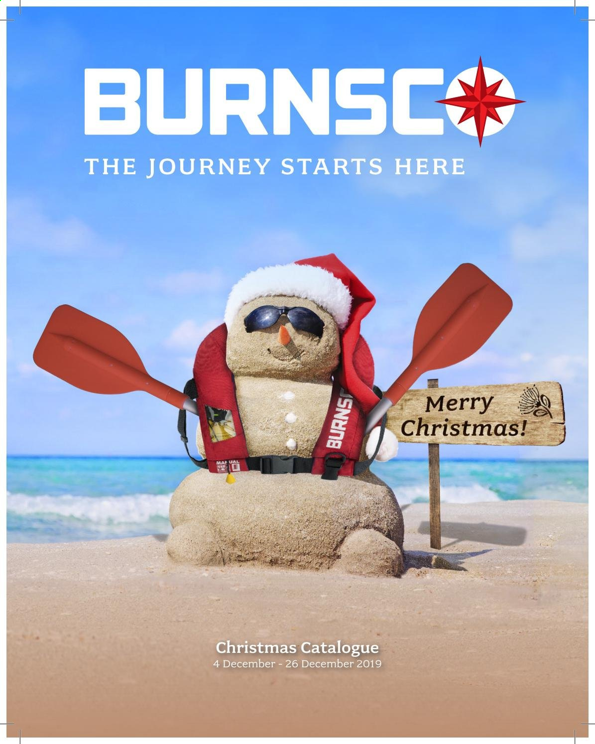 Burnsco mailer  - 04.12.2019 - 26.12.2019. Page 1.
