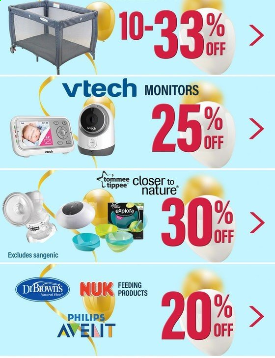 The Baby Factory mailer - 24.12.2019 - 01.01.2020 - Sales products - Nuk, Vtech, Philips Avent, Sangenic. Page 5.