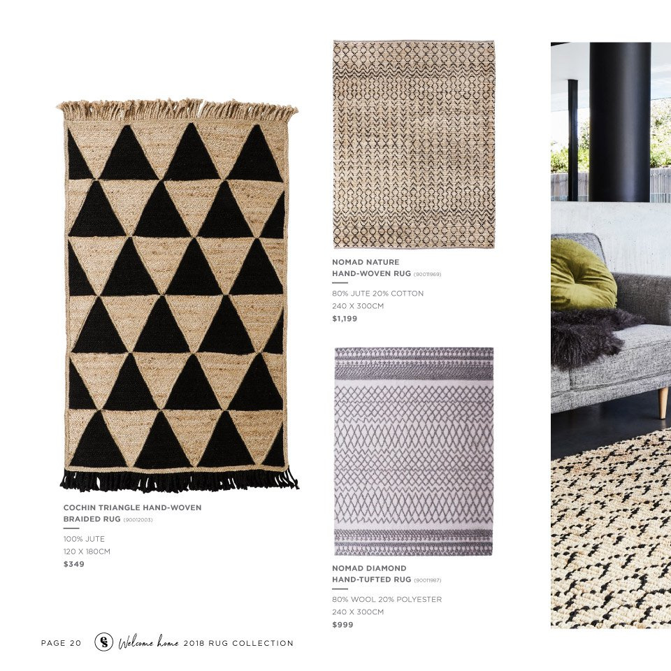 Early Settler mailer - 25.05.2018 - 31.12.2018 - Sales products - cotton, rug. Page 20.
