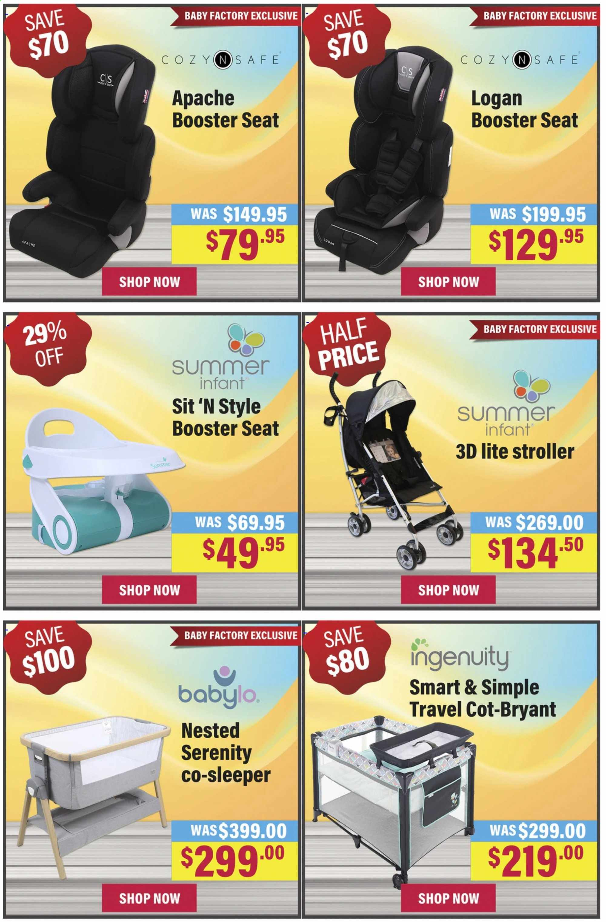 The Baby Factory mailer - 12.01.2020 - 26.01.2020 - Sales products - Ingenuity, stroller. Page 4.