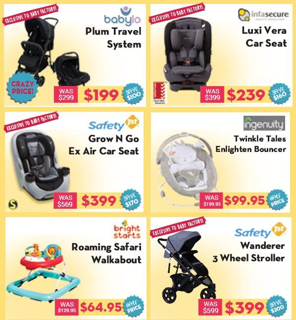 The Baby Factory mailer - 25.06.2018 - 15.07.2018 - Sales products - stroller, baby car seat. Page 2.