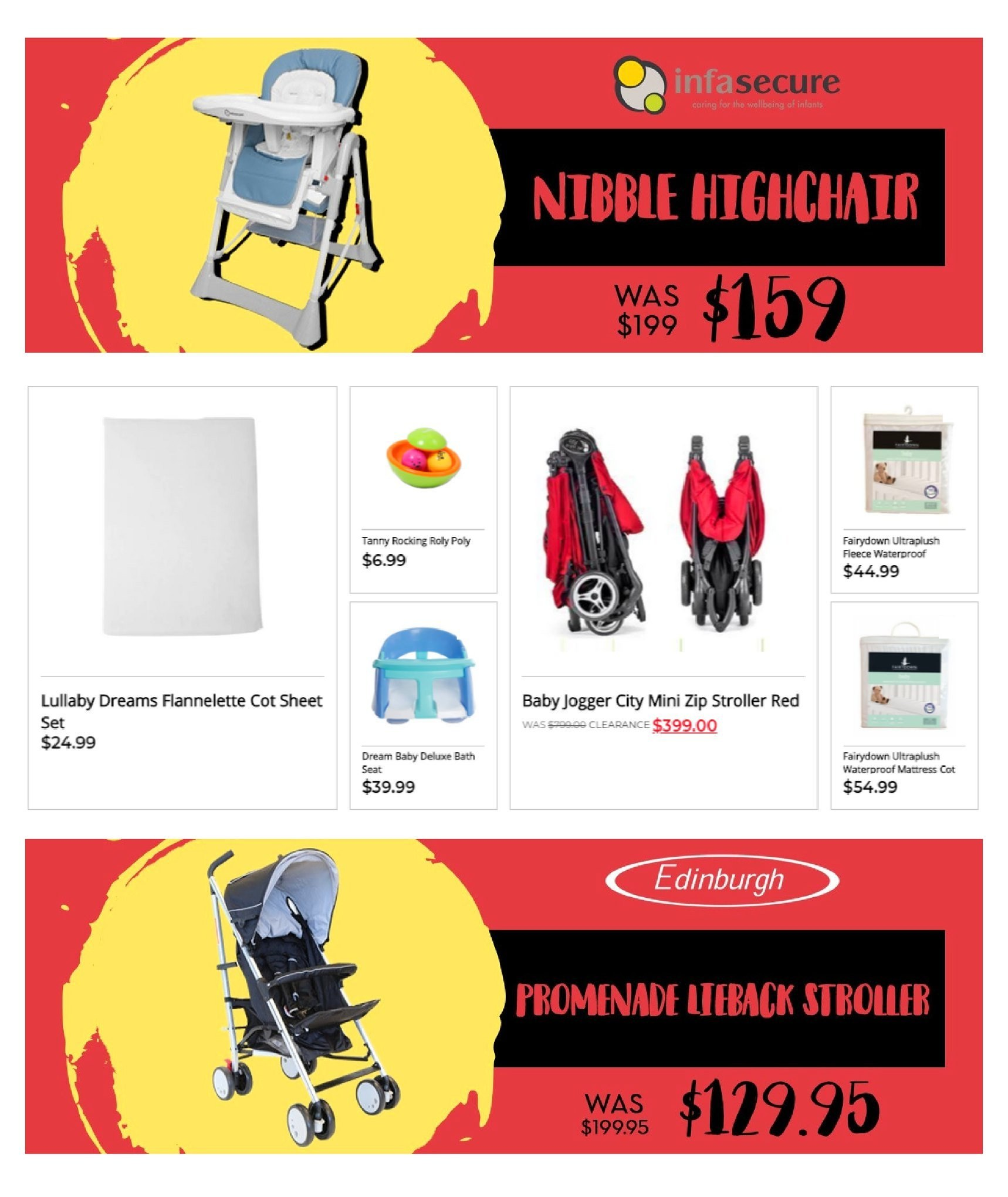 The Baby Factory mailer - 09.08.2018 - 06.09.2018 - Sales products - stroller. Page 2.