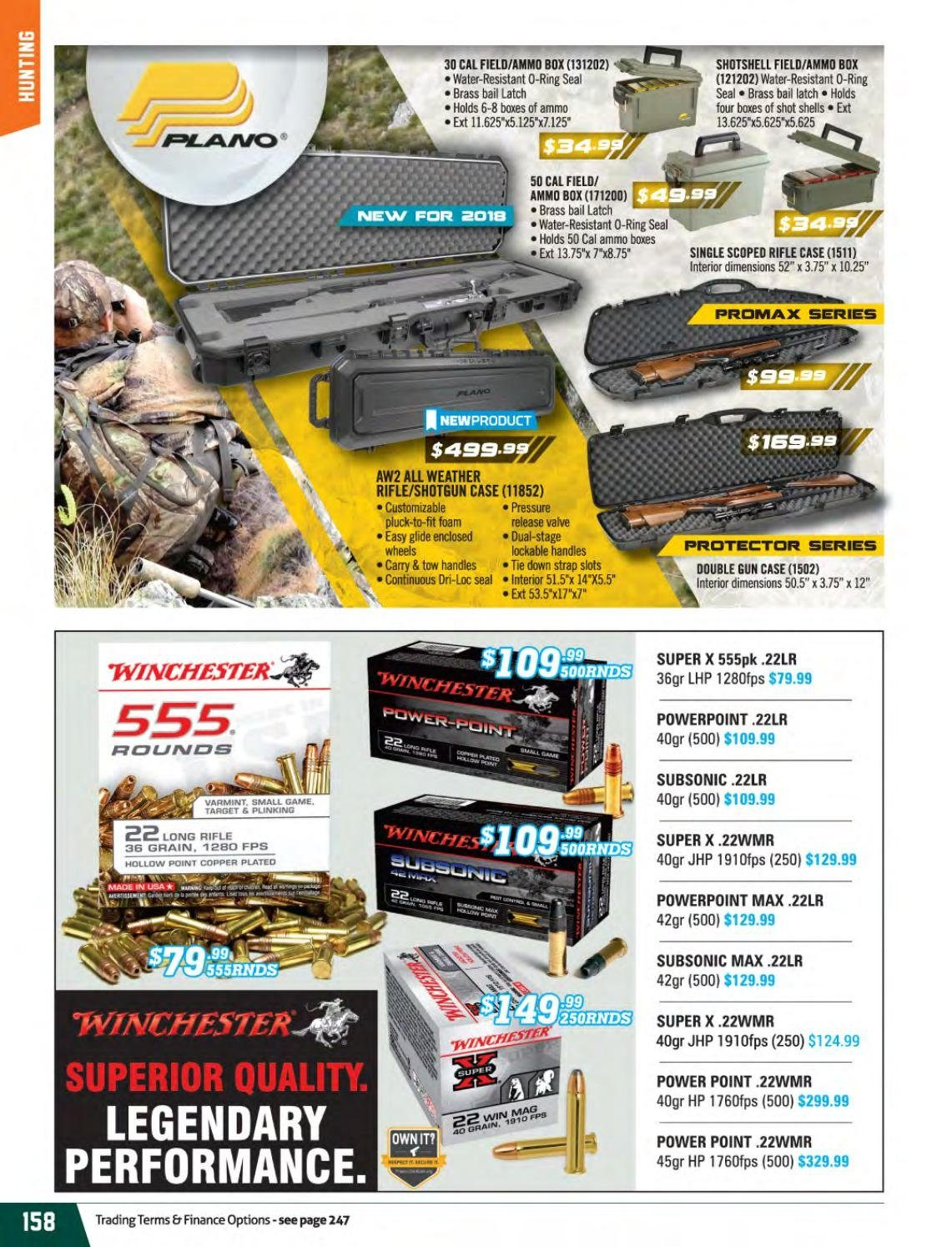 Hunting & Fishing mailer . Page 158.