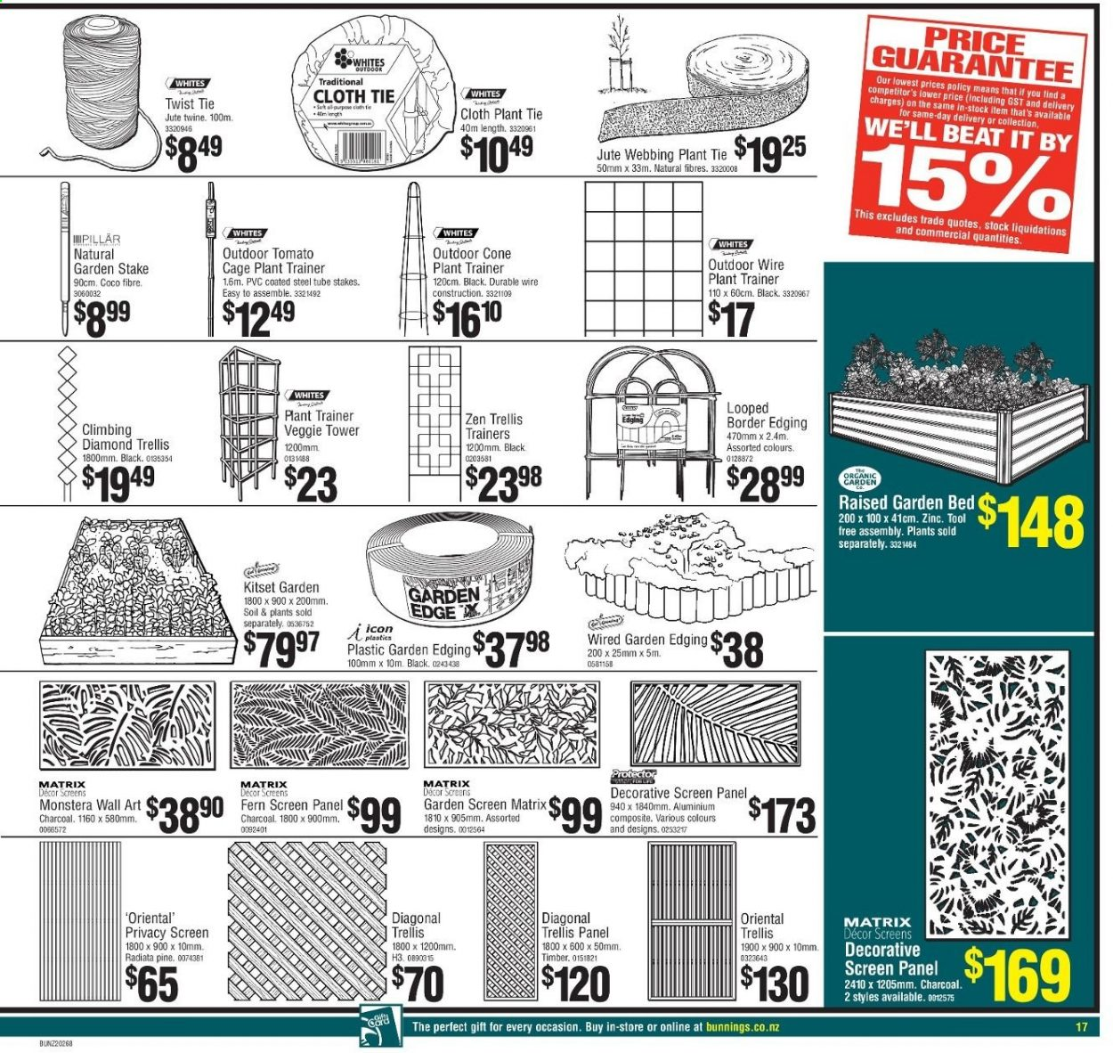 Picture of: Bunnings Warehouse Catalogue 16 09 2020 11 10 2020 Page 16 My Catalogue