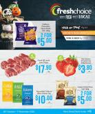 Fresh Choice mailer - 26.10.2020 - 01.11.2020.