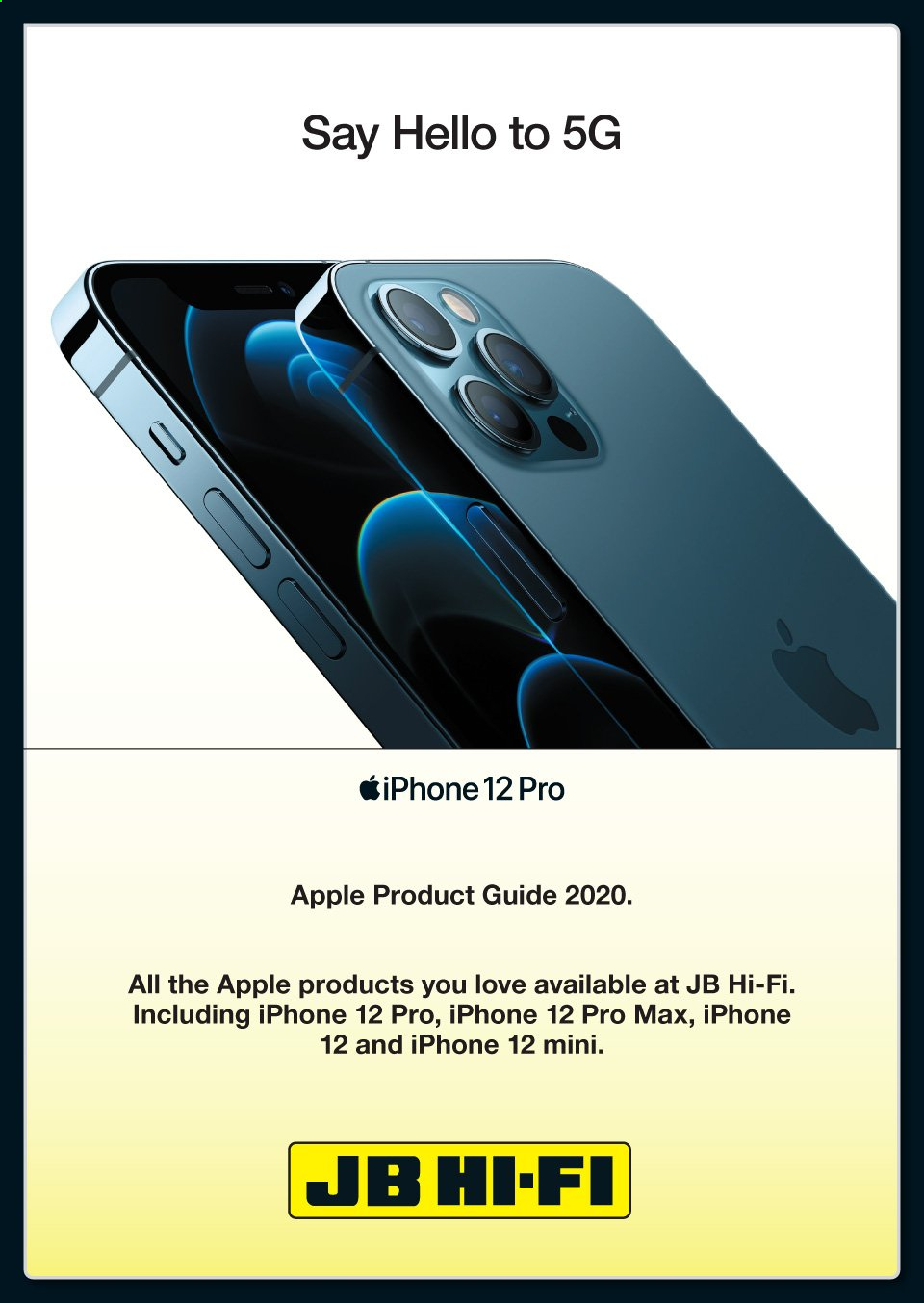 JB Hi-Fi mailer - 13.11.2020 - 02.12.2020 - Sales products - apple, iphone, hi-fi, apples. Page 1.