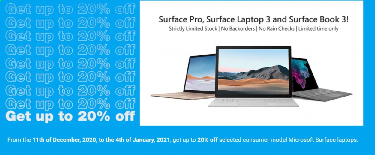 PB Tech mailer - 31.12.2020 - 04.01.2021 - Sales products - laptop, book. Page 1.