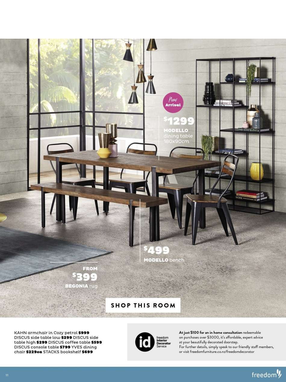 Current Freedom Furniture Mailer My Catalogue Nz