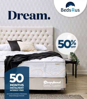 Beds R Us mailer - 03.02.2021 - 02.03.2021.
