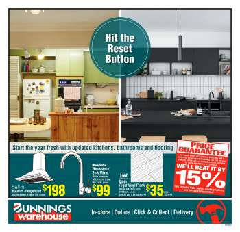 Bunnings Warehouse mailer - 20.02.2021 - 07.03.2021.