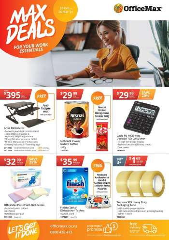OfficeMax mailer - 20.02.2021 - 26.03.2021.