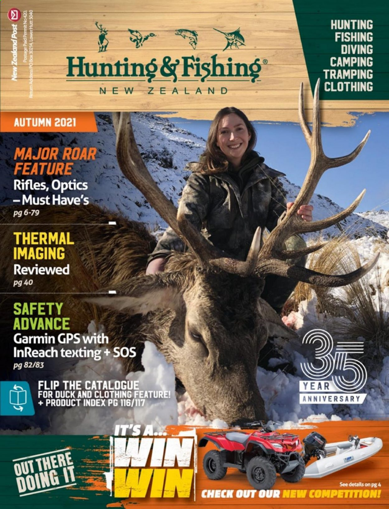Hunting & Fishing mailer . Page 1.