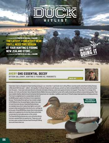 Hunting & Fishing mailer.