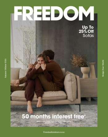Freedom Furniture catalogue