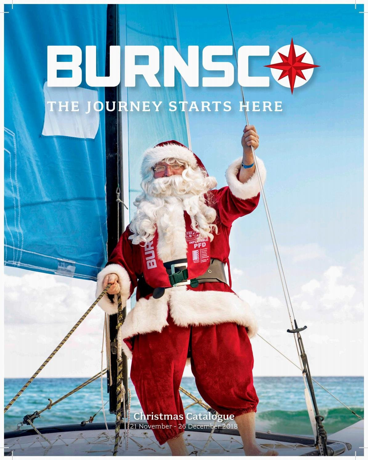 Burnsco mailer  - 21.11.2018 - 30.12.2018. Page 1.