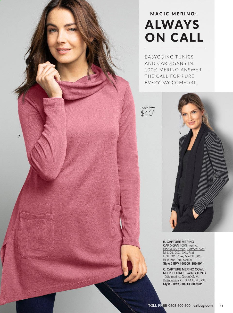 Ezibuy mailer - 16.03.2021 - 11.04.2021 - Sales products - cardigan. Page 11.