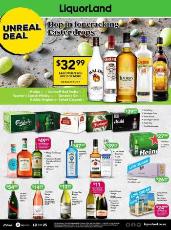 Liquorland catalogue